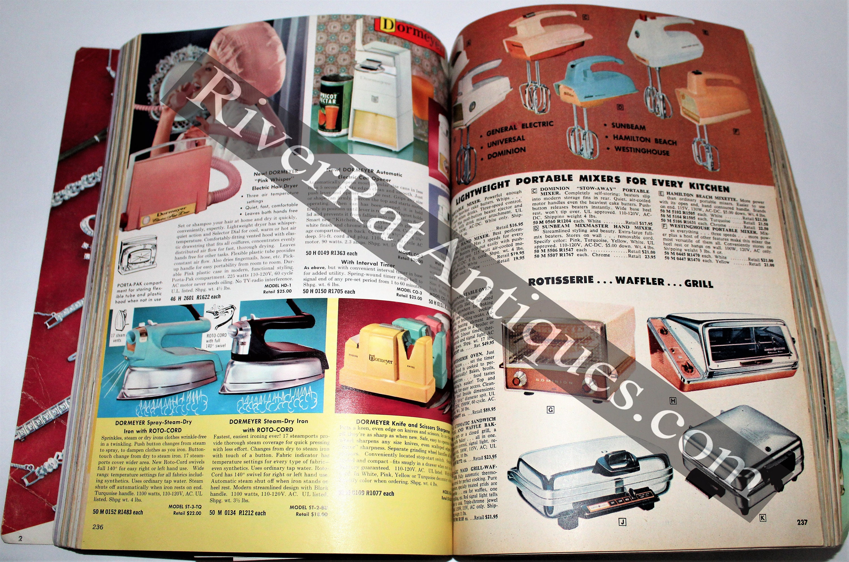 1960s Advertising, Mail Order Catalog, Spors Mail Order Catalog, 1961