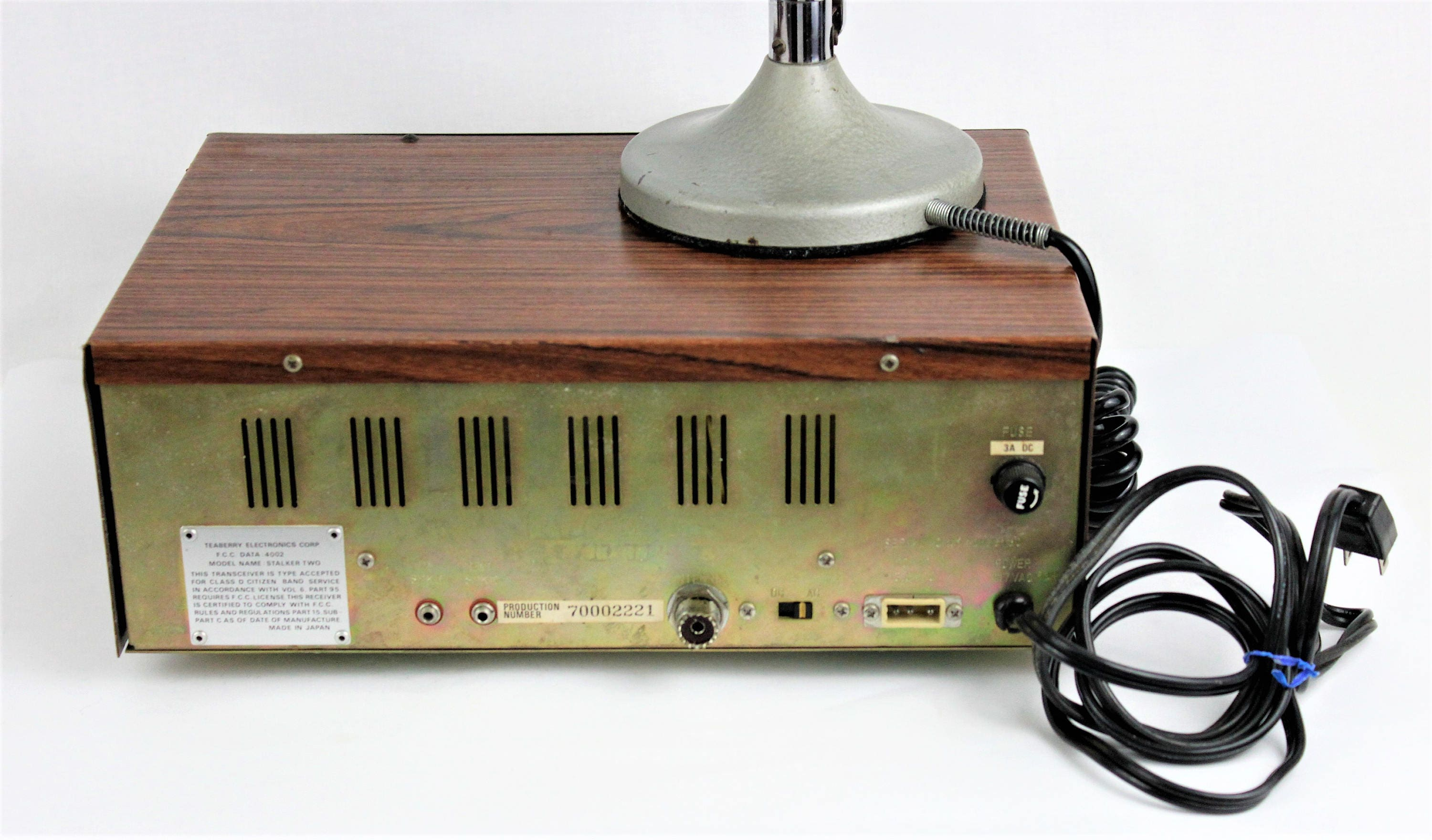 Vintage 1960s Teaberry Stalker Two Base Station CB Radio with the