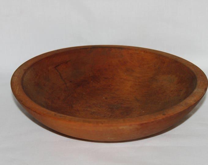 Vintage Wooden Spice Bowl