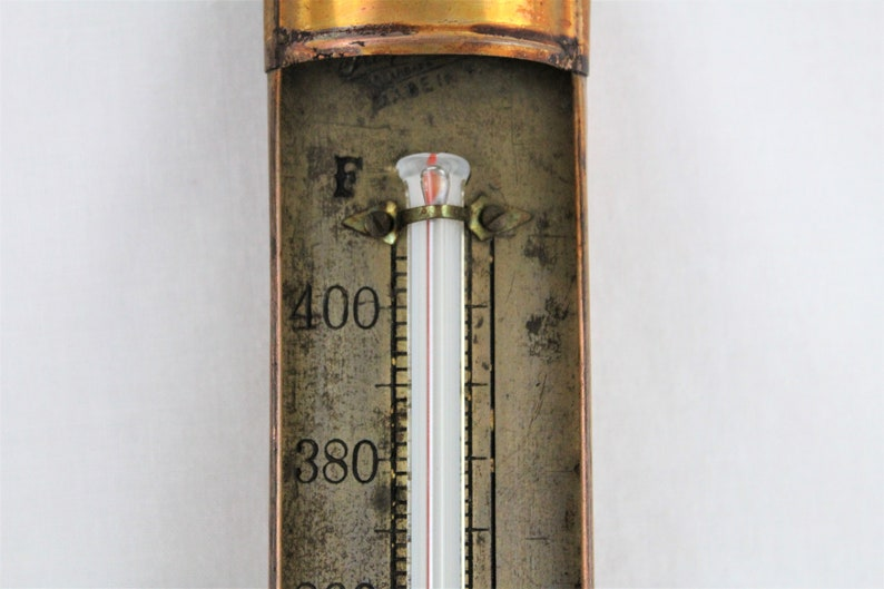 1925 Tagliabue Standard Candy Thermometer Old Fashion Antique Cooking Thermometer