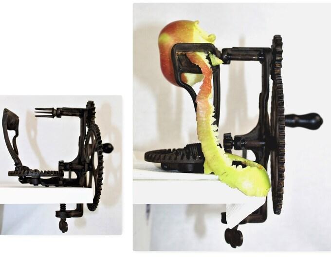 Antique Apple Peeler, The Reading Hardware Co, Model 72 Apple Peeler, Apple Harvest