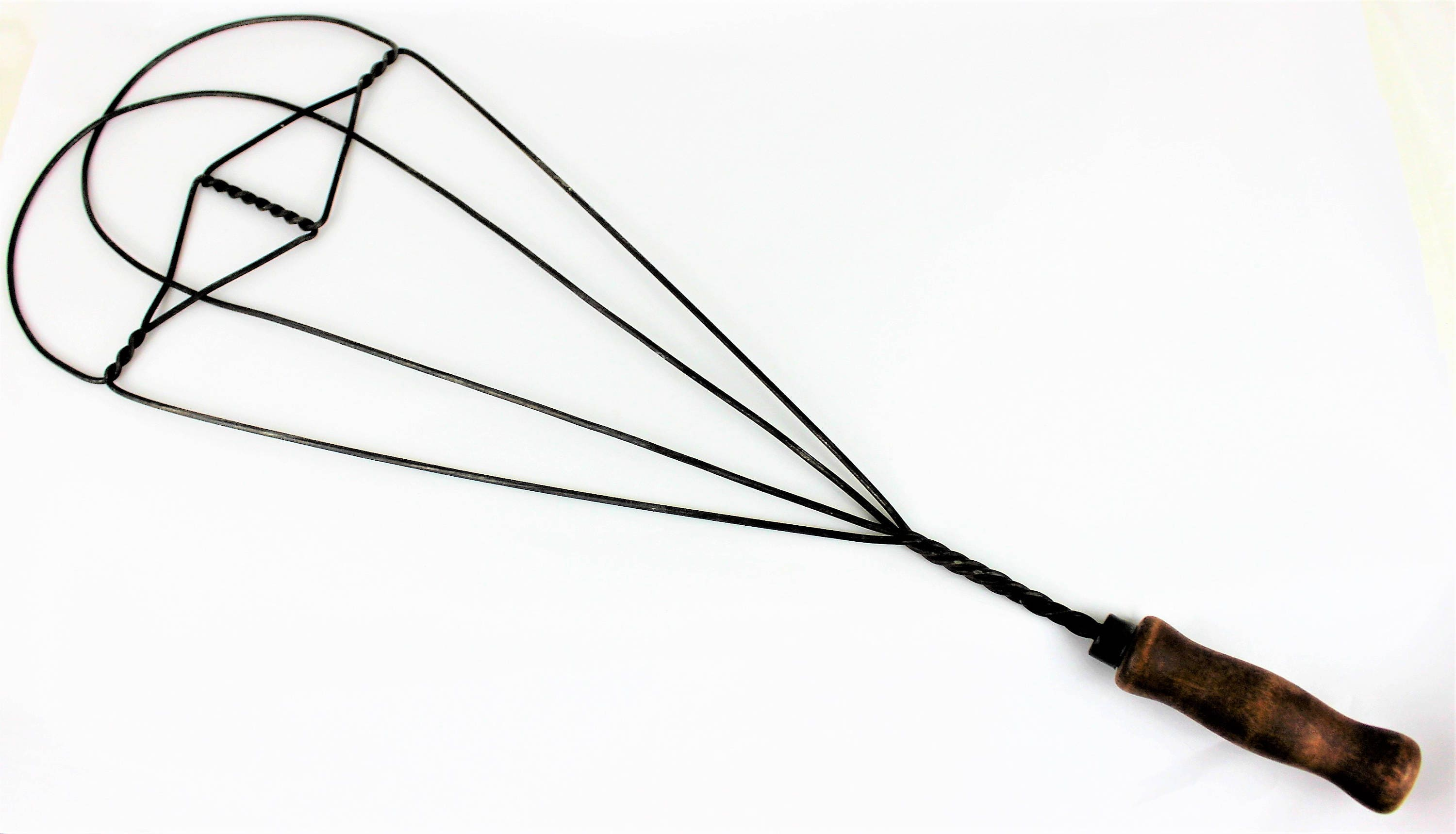 Antique Wire Rug Beater, Rust-Free Wire