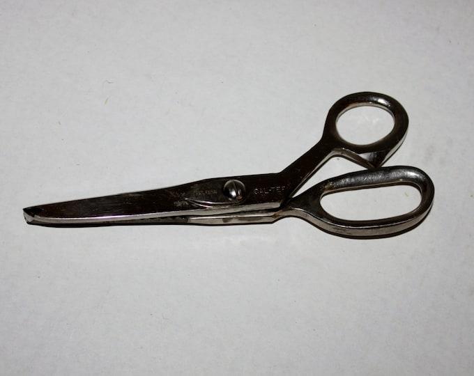"Vintage Cal-Tep Pinking Shears 7 3/4"""