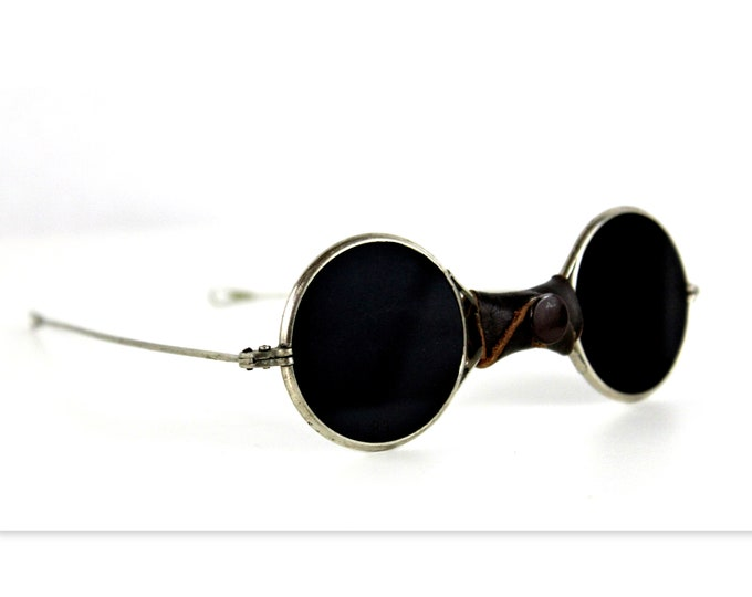 Antique 1800s, Medical Blackout Sunglasses