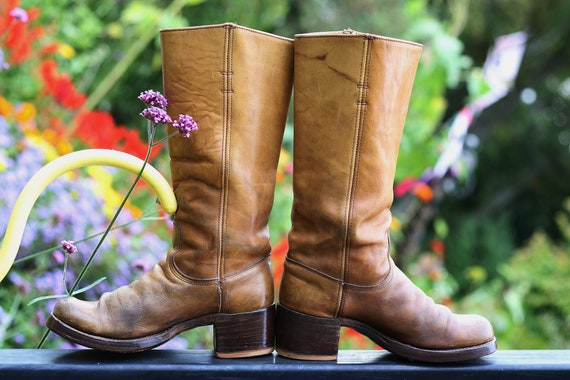 Vintage Frye Boots 7.5, Vintage Brown Frye Boots 7