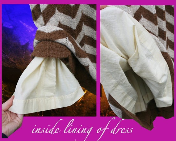 Vintage Maxi Dress Vintage Hand Knit Dress - image 6