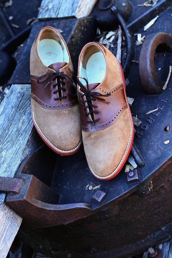 Vintage Mens Florsheim Shoes 8 D, Florsheim Dress