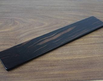 Keyboard Wrist Rest - Ebony wood