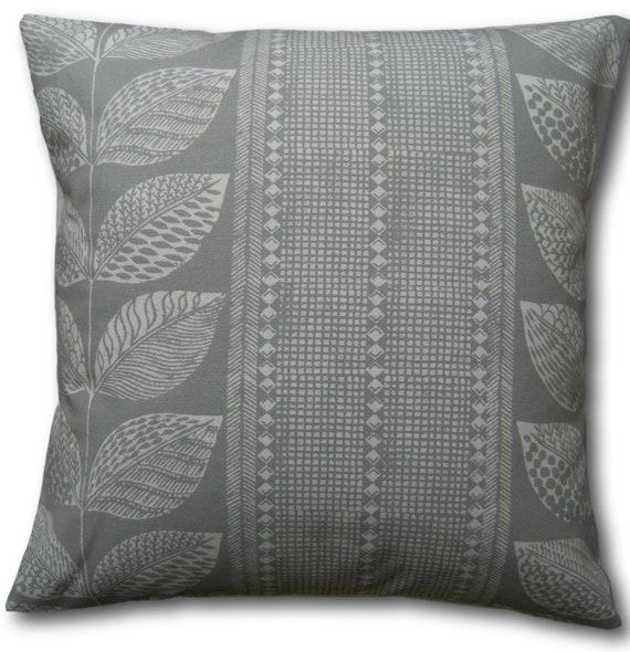 various Designer Cushion Covers handmade in Laura Ashley Silver Grey Fabrics