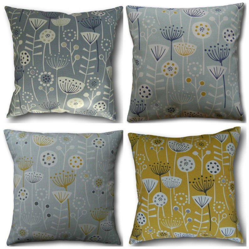 Cushion Covers made with Fryetts Scandinavian Duck Egg Blue image 0
