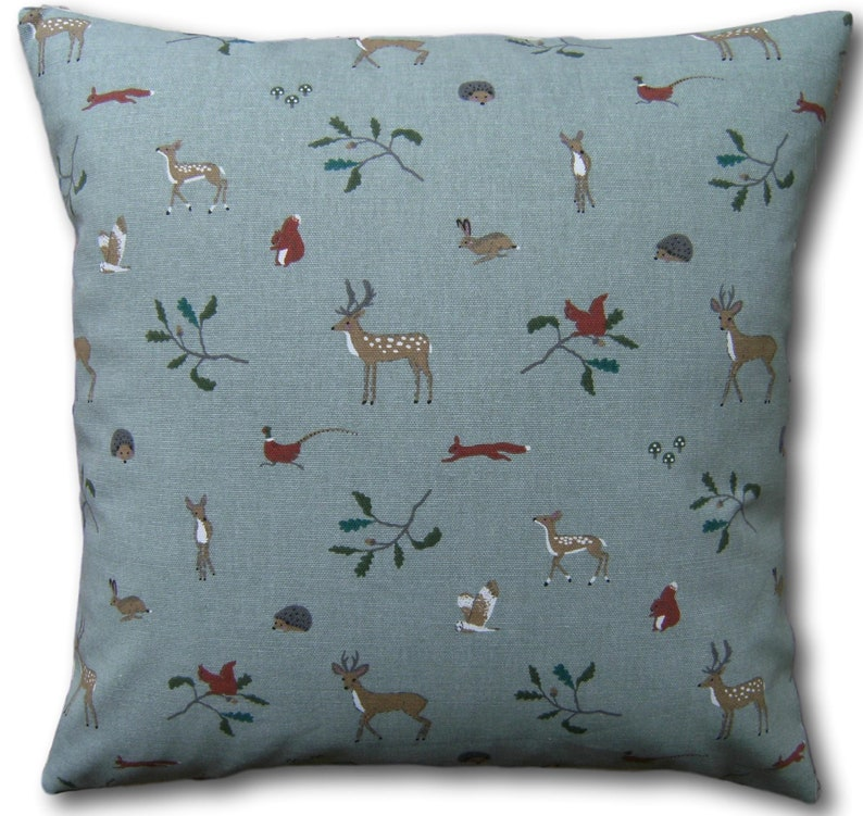 Christmas Cushion Covers Woodland Stags  Sophie Allport image 0