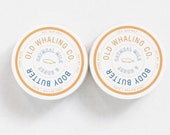 TWO Oatmeal Milk Honey Body Butter handmade lotion shea butter aloe vera paraben mineral oil free moisturizing best seller