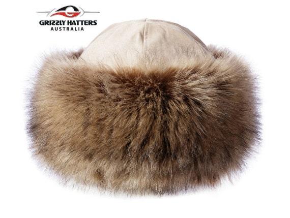 6200b42b24d Warm Ladies Faux Fur Hat Handmade in Australia Elegant