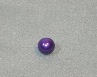 Pick A Pearl Oyster Freshwater Cultured Loose Pearl Round Violet Purple For Cage