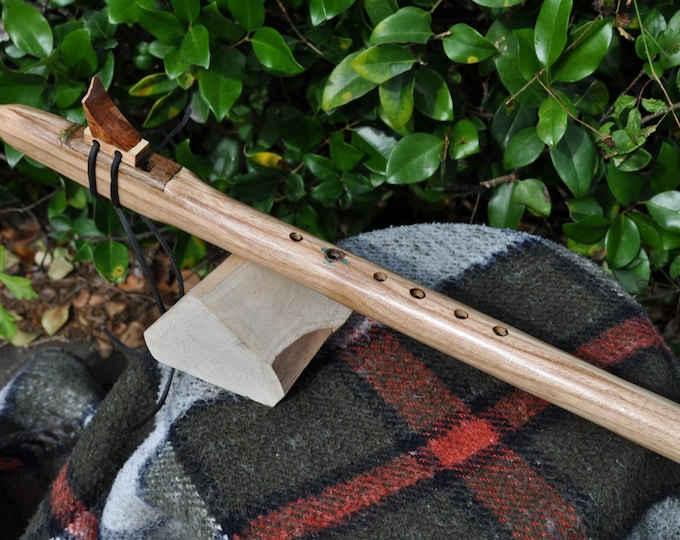 Native American Style Flute G scale  Ash By Crazy Bear (CBF)
