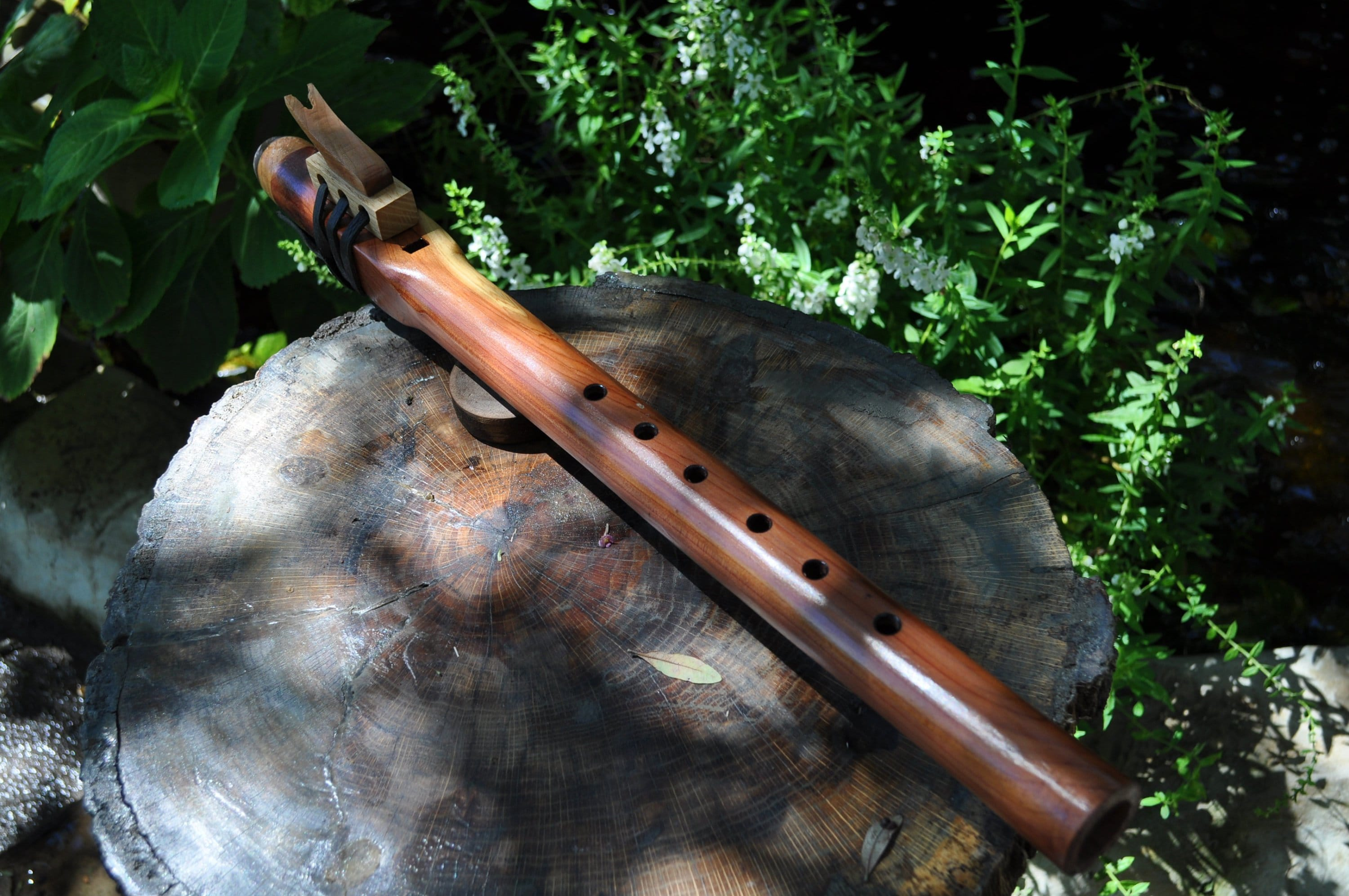 Native American Flute STYLE F sharp Red Cedar