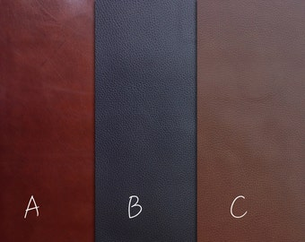 L54  Top Quality, Italian Cow Leather for small project, mix color 16x20 in (41cm x 51cm)