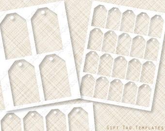 Gift Tag Etsy - Printable hang tags templates