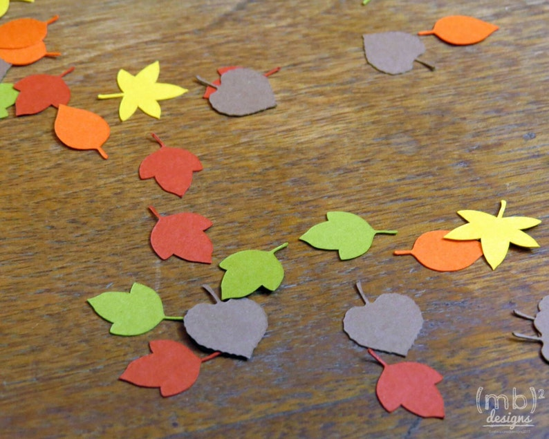 Autumn Leaves Table Scatter Fall Confetti