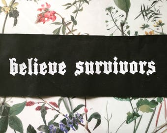 Believe Survivors Patch
