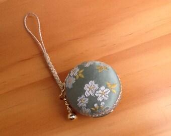 Upcycled  Japanese Kimono Fabric Macaron Case