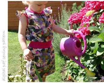 Heather Dress - Sizes 2 to 10 - digital pdf sewing pattern