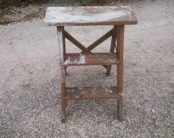 Excellent Vintage Bombay Company Wood Plant Stand With Marble Top Wood Beatyapartments Chair Design Images Beatyapartmentscom