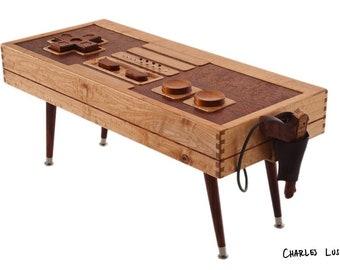 8-bit Retro Gaming Table w/ Gun  - Functional