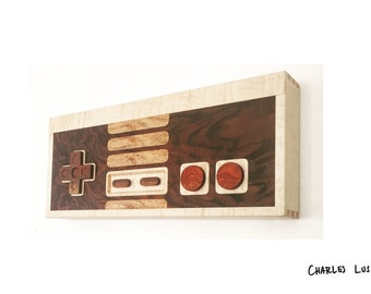 Retro Gaming Controller Wall Art