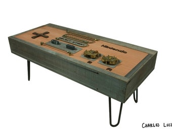 Reclaimed / Steampunk 8-bit Retro Gaming Table