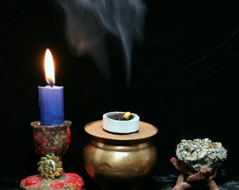 Charcoal for resin incense, herbs, shisha, smudging - sleeves or singles - meditation, yoga, magic
