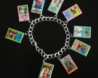Little House On The Prairie Series Mini Book Bracelet