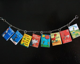 Dr. Seuss Mini Book Bracelet