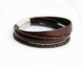 a478115f389d Men s Leather Bracelet