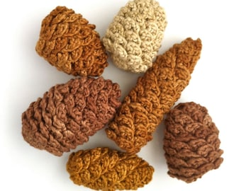 Pine Cone Decorations / Fir Cone Ornaments Pinecones / Twig Tree Decorations / Autumn Winter Thanksgiving Christmas Decorations