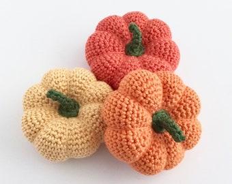 Pumpkin Decorations Pumpkin Ornaments / Autumn Pumpkins Gourds / Autumn Decor Fall Halloween Thanksgiving Samhain