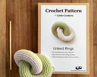 Baby Toy Crochet Pattern / Gift for Crocheter / Baby Shower Gift / Crochet Gift for her / Printed Paper Pattern / Craft DIY Gift