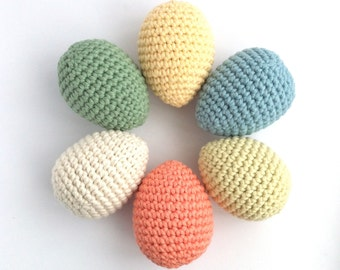 Easter Egg Decorations / Eco-friendly Organic Natural / Pastel Easter Eggs Ornaments / Twig Tree Kitchen Nursery Decor /