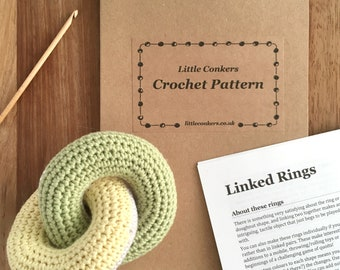 Baby Toy Crochet Pattern / Gift for Crocheter / Craft DIY Gift for New Mum Baby Shower Gift / Crochet Gift for her / Printed Paper Pattern