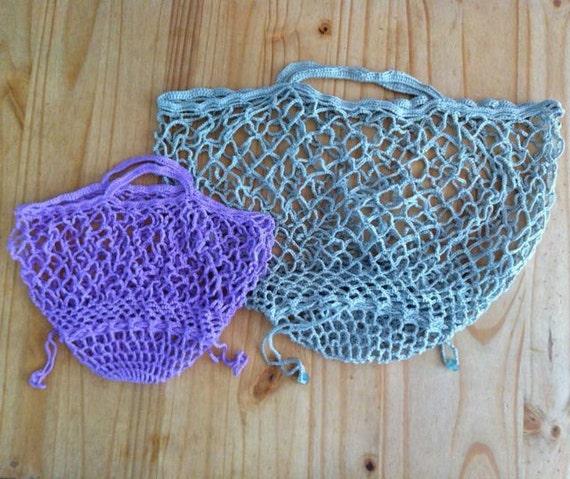 Patron Crochet Sac Modèle Sac Au Crochet Sac Qui Se Replie Sac En Filet Au Crochet