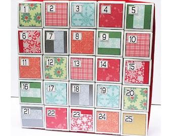 Advent Christmas Countdown Holiday Calendar