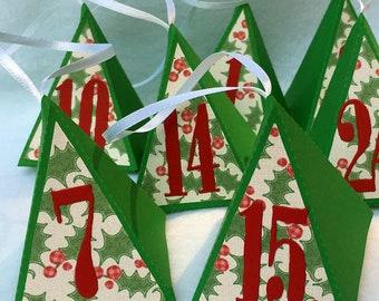 Advent Christmas Squeeze Box Calendar