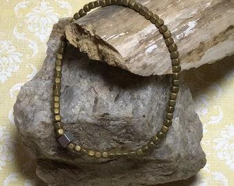 Unisex Beaded Bangle Stretch Bracelet