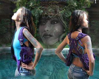 Medusa Shoulder Holster Vest Bag Pouch Purse ~ for festival girls & women