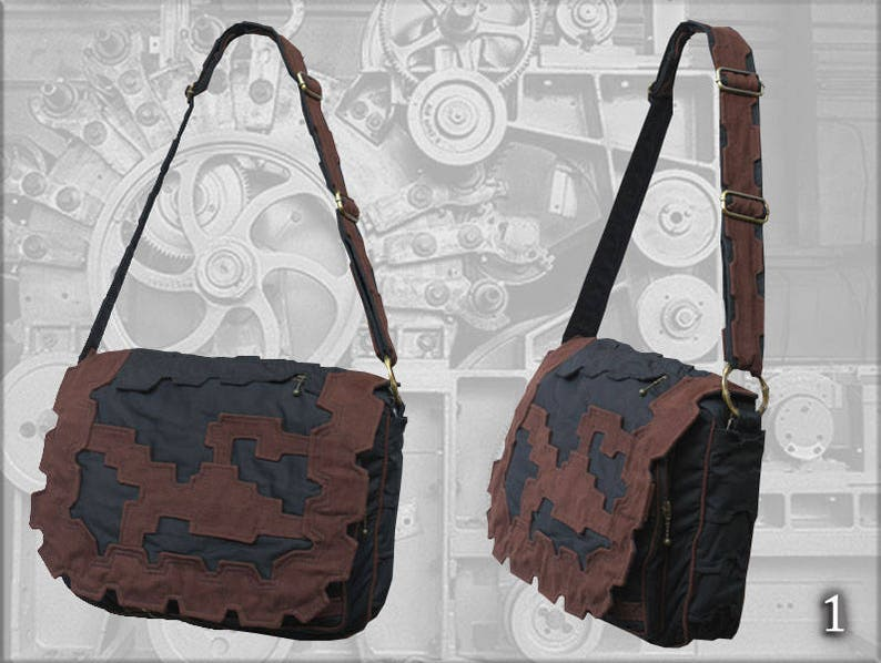 3a9f8c7da7 Tesla Shoulder Bag steampunk style Promotion Price