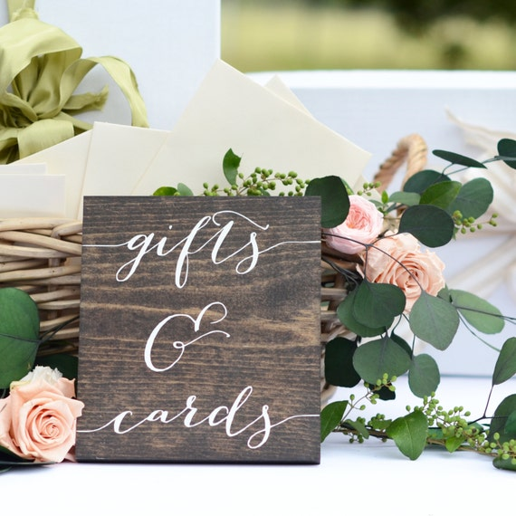 Gifts and cards sign wedding gift table sign gifts sign negle Images