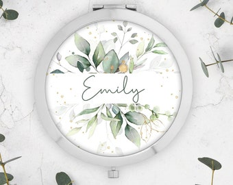 Personalised Compact Mirror - Name