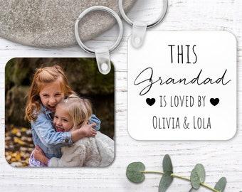 Personalised Grandad Keyring