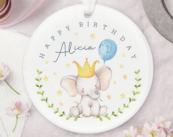 Personalised Birthday Ceramic Keepsake Decoration