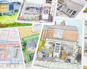 Set of 12 Whitstable Post...